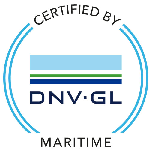 DNV GL certification mark.