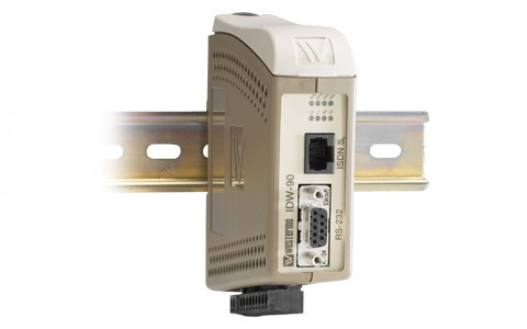 The Westermo IDW-90 is an industrial IDSN modem used for simple remote access to industrial applications.
