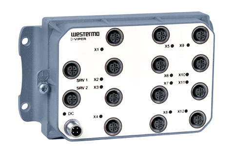Unmanaged EN 50155 Switch Westermo Viper-012