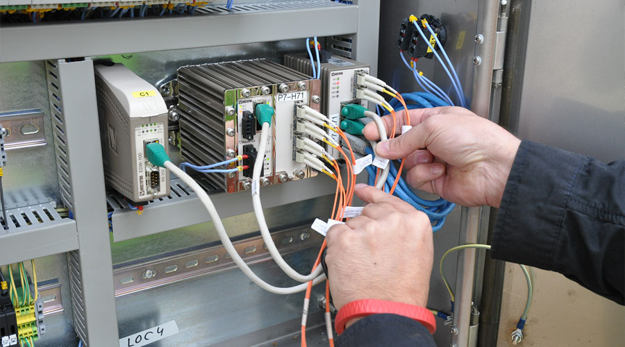 Westermo switches in solar plant control system